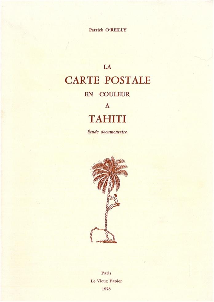 La carte postale a tahiti