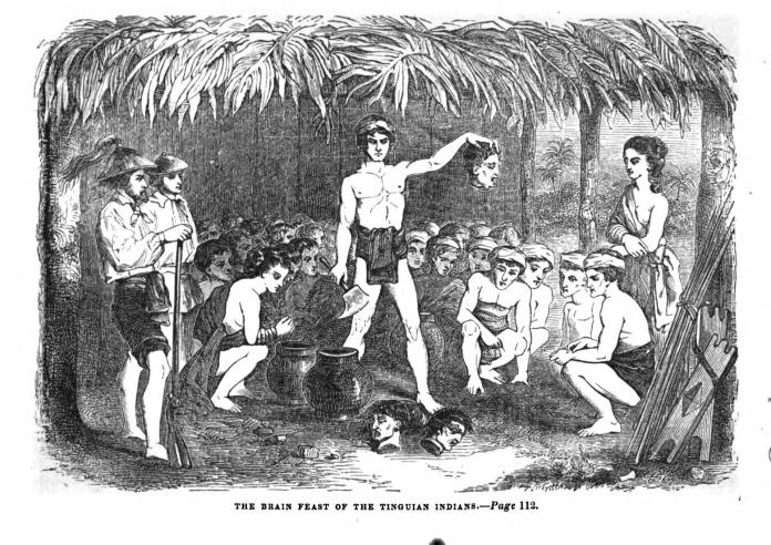 From Paul P. de la Gironière, 'Twenty Years in the Philippines' (1854)
